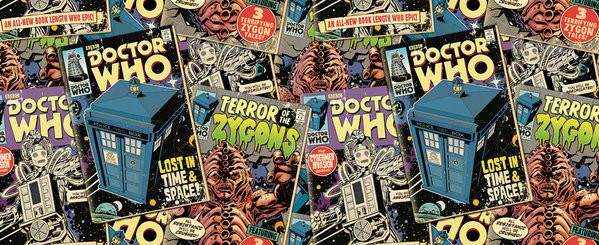 Doctor Who - Comic Books Tasse