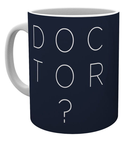 Doctor Who - Doctor Who Type Tasse