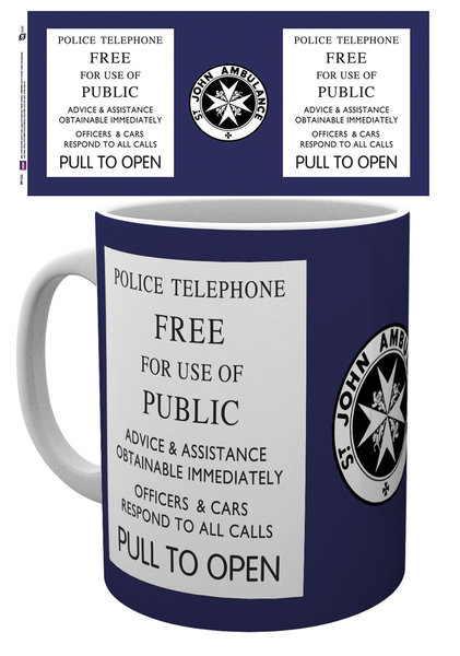 Doctor Who - Tardis Sign Tasse