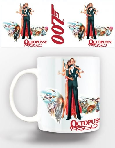 James Bond - octopussy Tasse