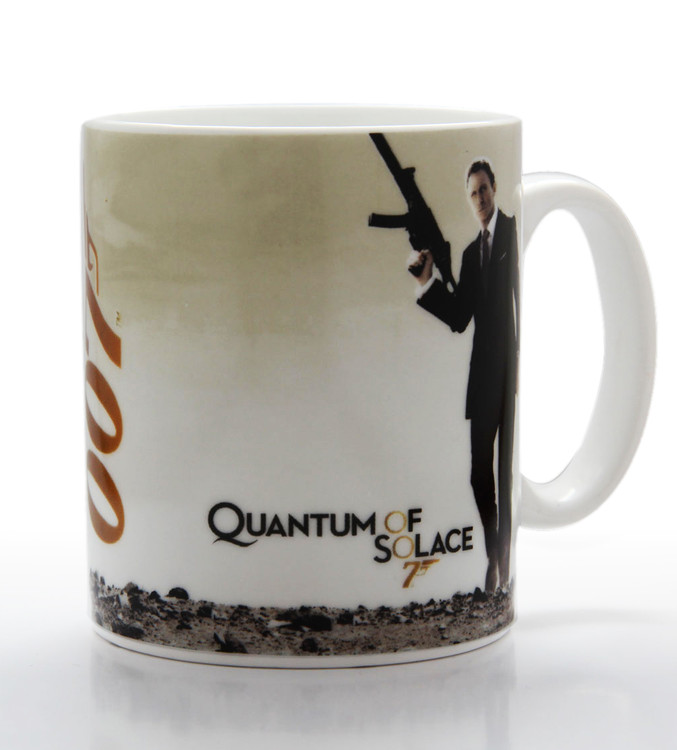 James Bond - quantum of solace Tasse