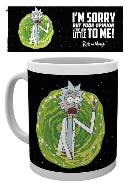 Rick And Morty - Your Opinion Tasse