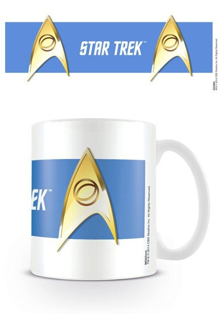 Star Trek - Sciences Blue Tasse