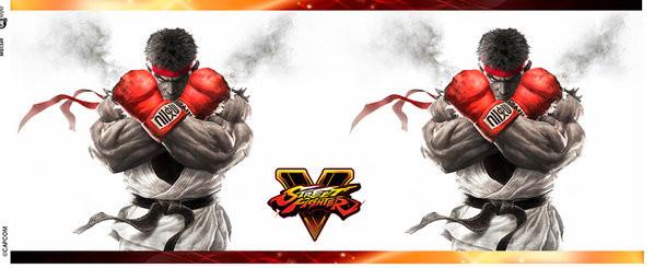 Street Fighter 5 - Key Art Tasse