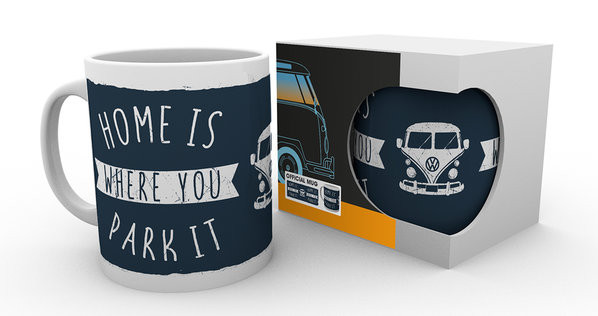 VW Camper - Home Tasse