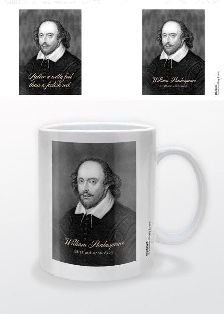 William Shakespeare - Witty Quote Tasse