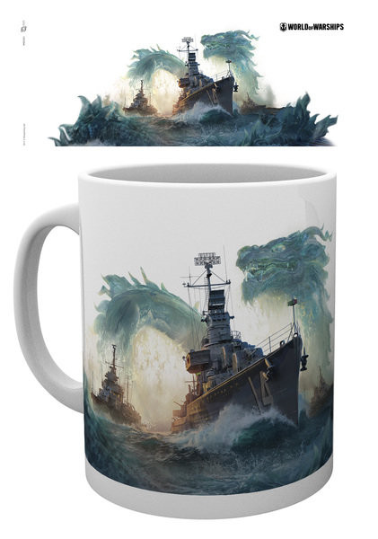 World Of Warships - Dragons Tasse