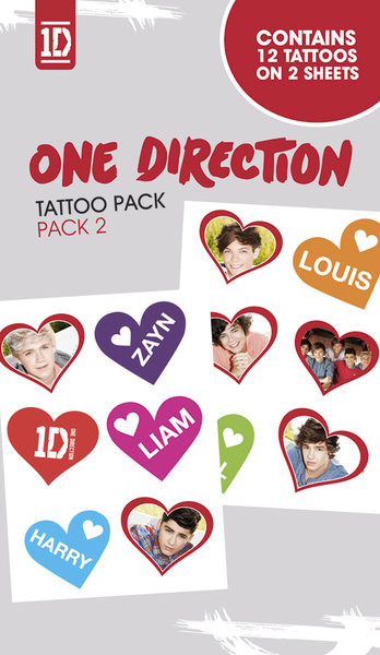 ONE DIRECTION - photos Tatovering