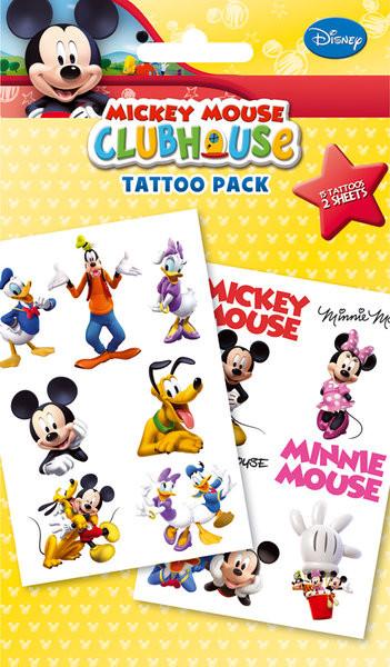 Mickey Mouse Club House Tatuaż Kup Na Posterspl
