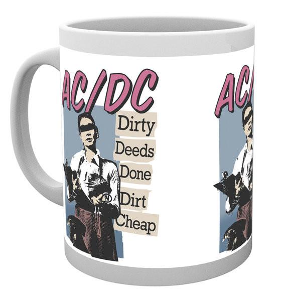Taza AC/DC - Dirty Deeds