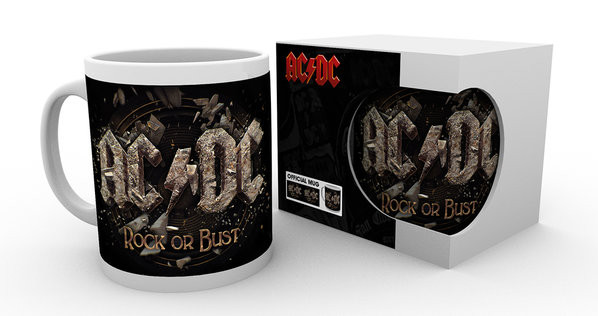 Taza  AC/DC - Rock or Bust