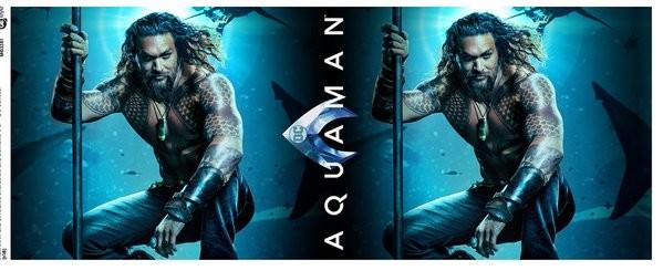 Taza  Aquaman - One Sheet