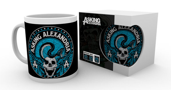 Taza  Asking Alexandria - Venom