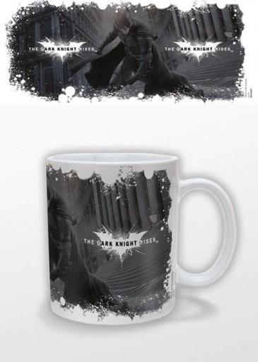 Taza Batman: El caballero oscuro: La leyenda renace - White Logo