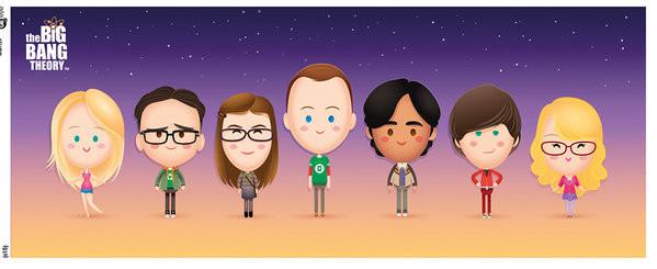 Taza Big Bang -Characters
