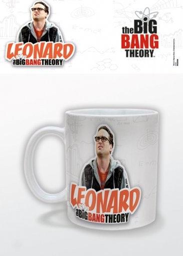 Taza Big Bang - Leonard