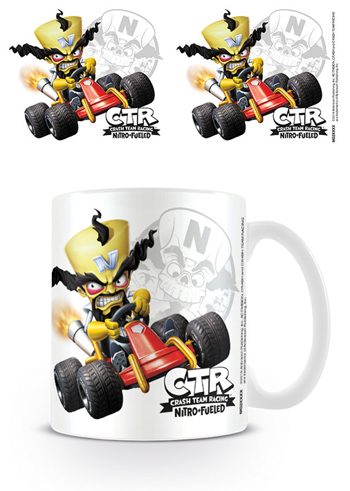 Taza  Crash Team Racing - Neo Cortex Emblem