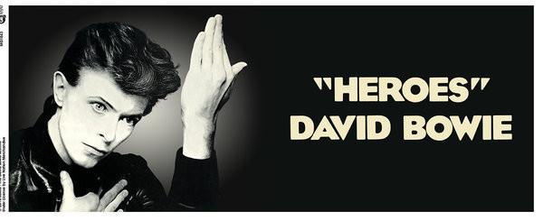 Taza  David Bowie - Heroes