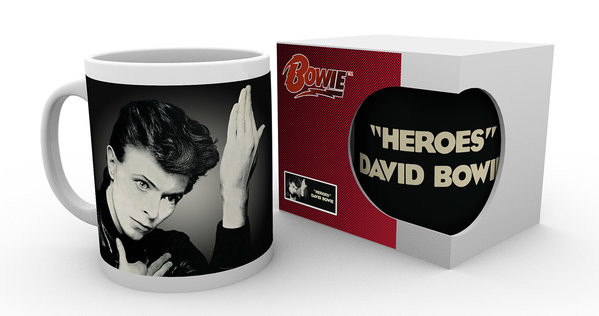 Taza  David Bowie - Heroes