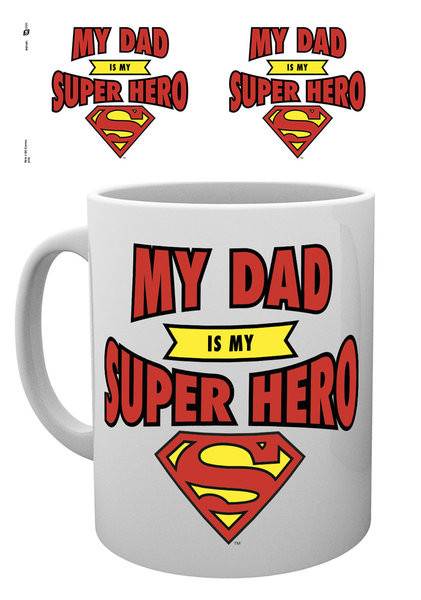 Taza DC Comics - Superman Dad Superhero