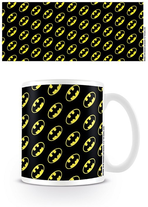 Taza DC Originals - Batman Logo Pattern