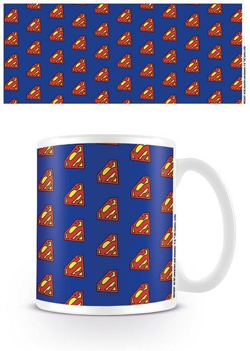 Taza DC Originals - Superman Logo Pattern