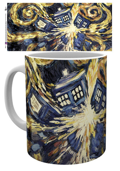 Taza Doctor Who - Exploding Tardis