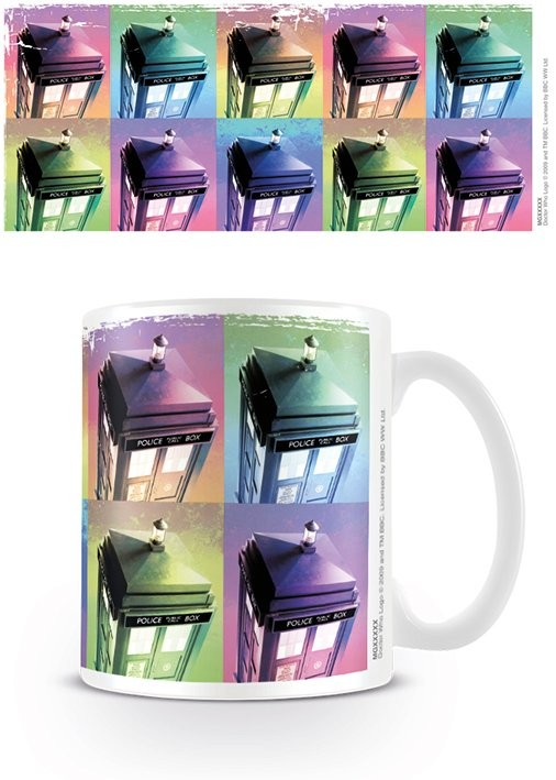 Taza Doctor Who - Tardis Colour