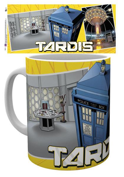 Taza Doctor Who - Tardis Scene