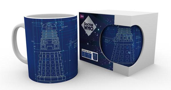 Taza  Doctor Who - Tardis Sign