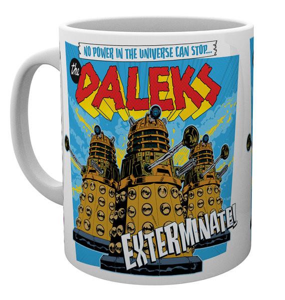 Taza Doctor Who - The Daleks
