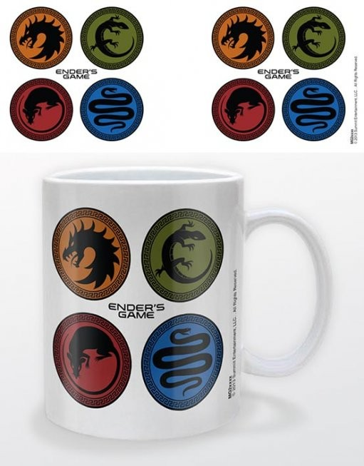 Taza Ender's game - icons