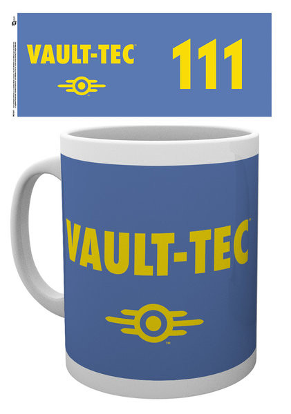 Taza Fallout - Vault tech