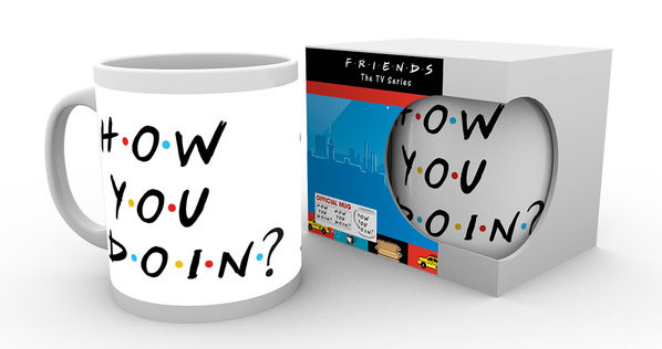 Taza  Friends TV - How You Doin