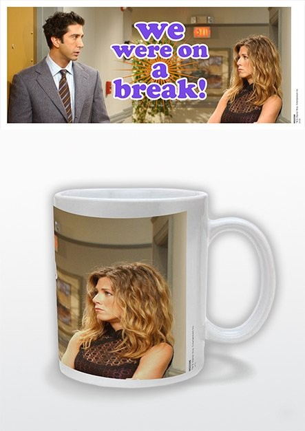 Taza Friends - TV We Were On A Break!