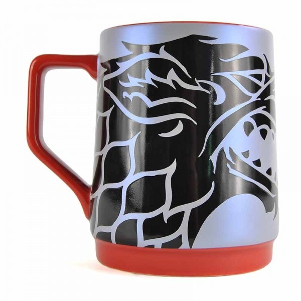 Taza  Game Of Thrones - Stark Reflection Decal