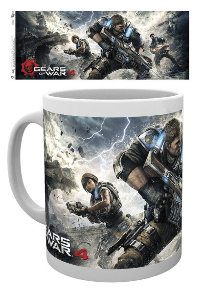 Taza Gears Of War 4 - Game Cover