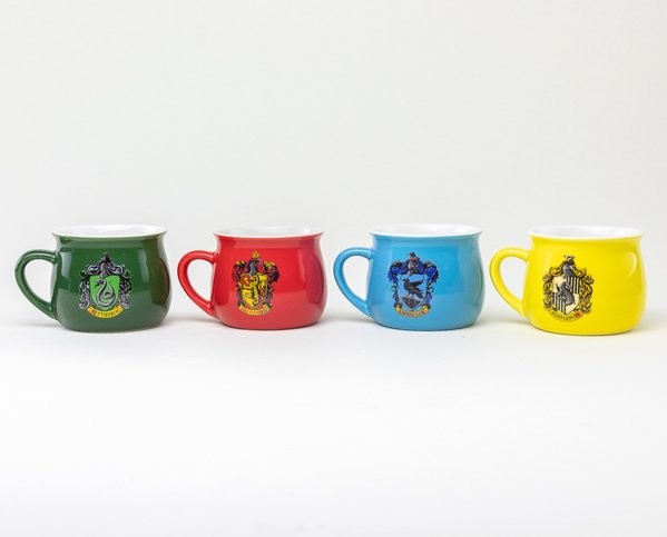 Taza  Harry Potter - House Crests