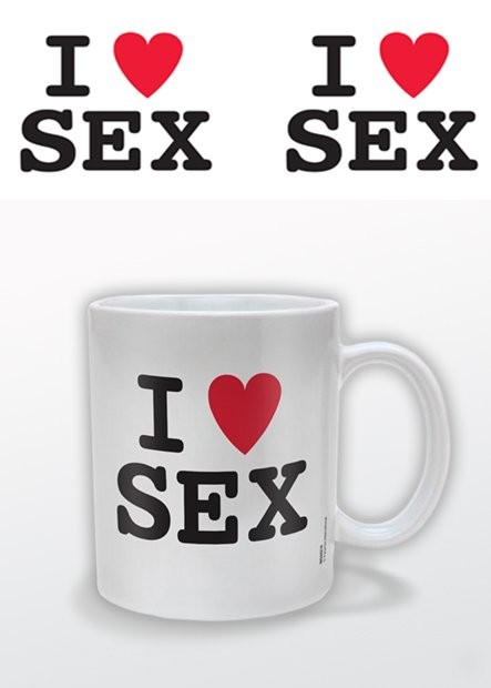 Taza  I (heart) Sex – I Love Sex