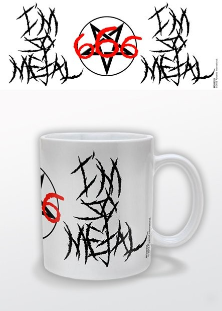 Taza  I'm So Metal