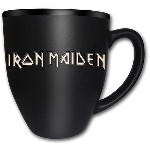 Taza  Iron Maiden – Tails Logo Matt Engraved