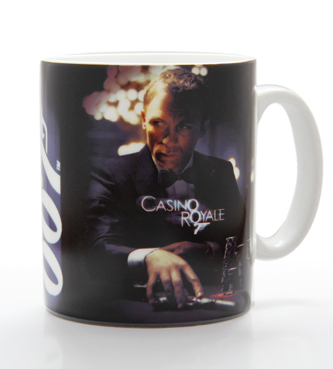 Taza James Bond - casino royale