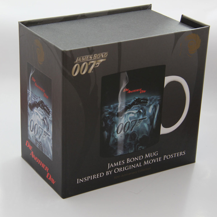 Taza  James Bond - die another day