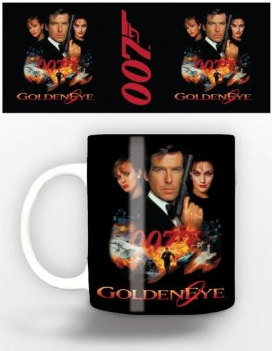 Taza  James Bond - goldeneye