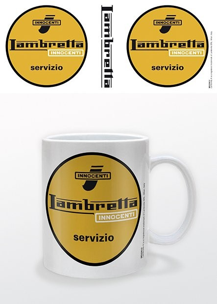 Taza  Lambretta - Servizio