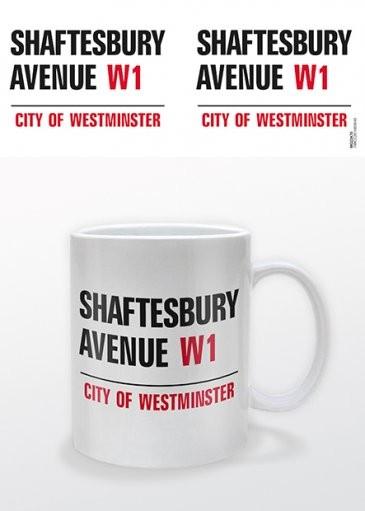 Taza Londres - Shaftesbury Avenue
