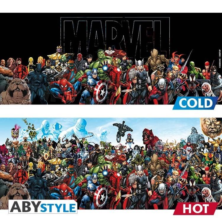 Taza  Marvel - Heroes