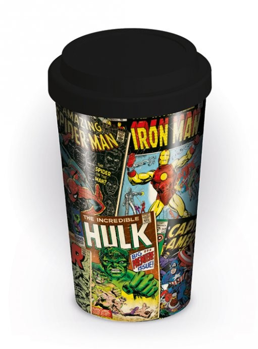 Taza Marvel Retro - Covers