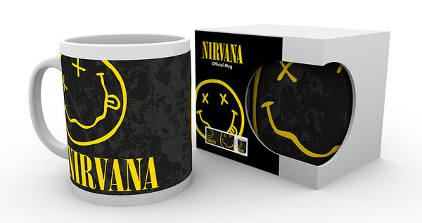 Taza  Nirvana - Smiley