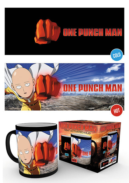 Taza  One Punch Man - Saitama